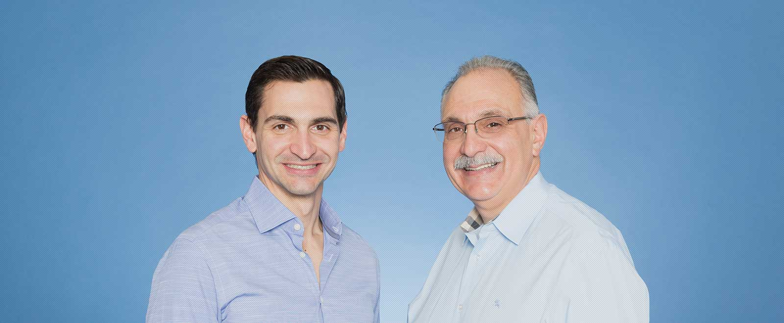 Dr. George and Dr. Peter Scordilis